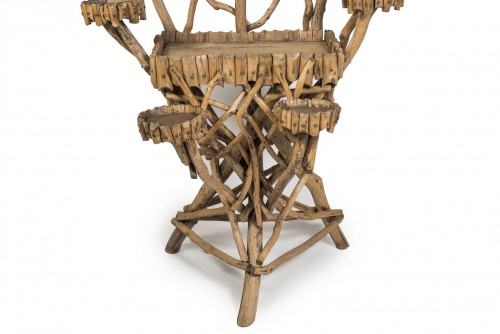 Decorative Objects  - Wooden planter, France 20th century