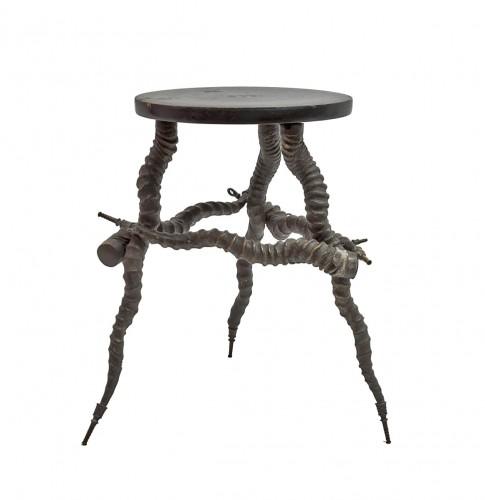 Hunting stool, India circa 1880