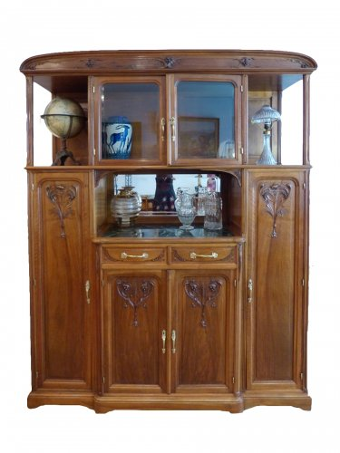 buffet art nouveau antiquit s sur anticstore. Black Bedroom Furniture Sets. Home Design Ideas