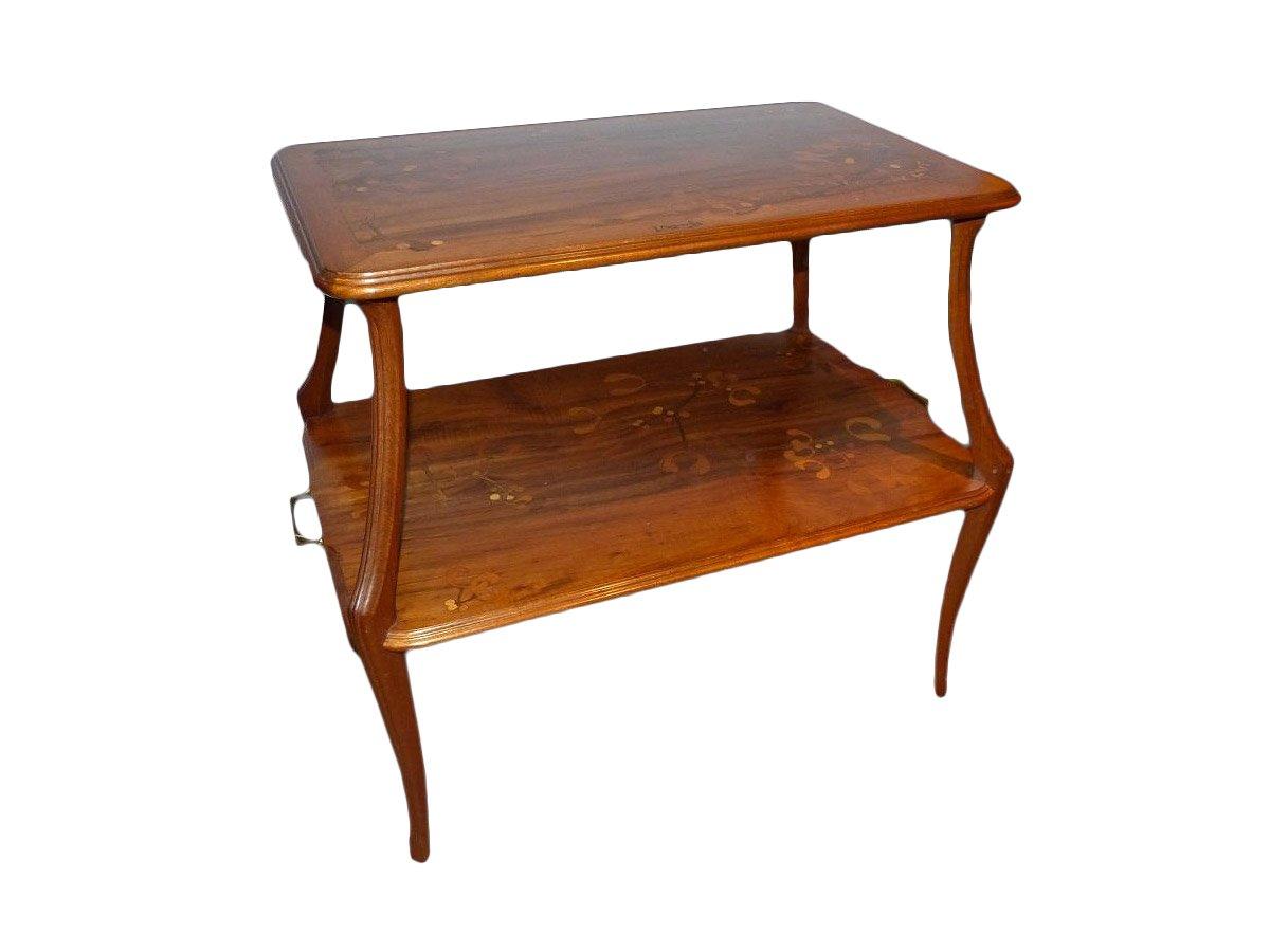 louis majorelle table th motif de gui cole de nancy art nouveau xxe si cle. Black Bedroom Furniture Sets. Home Design Ideas