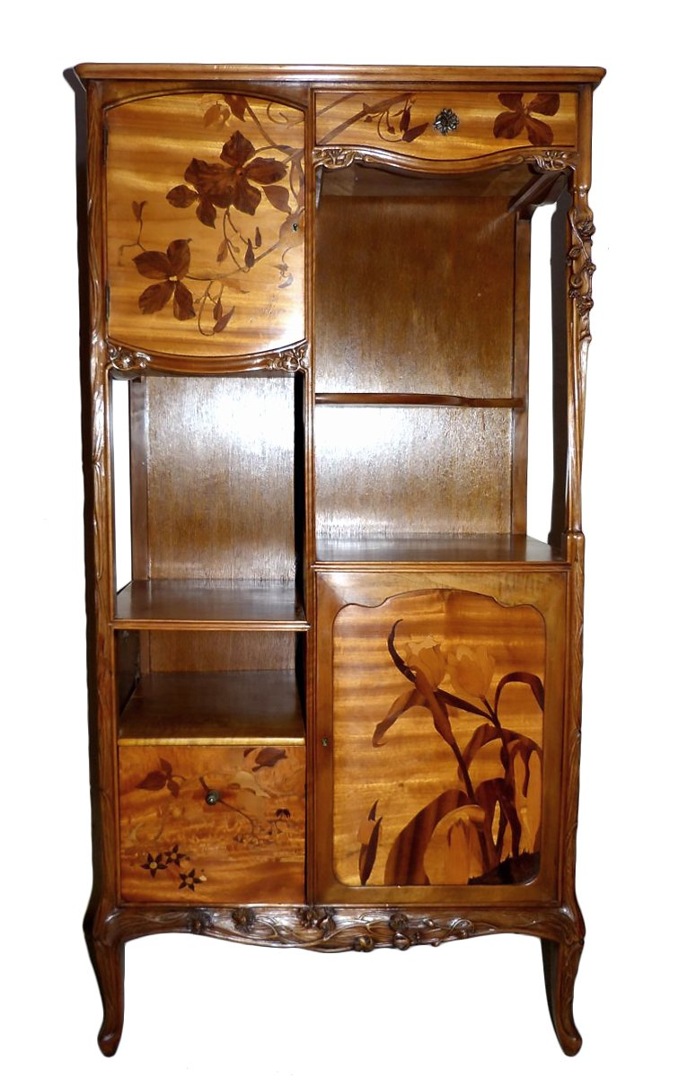 louis majorelle meuble tag re art nouveau cole de. Black Bedroom Furniture Sets. Home Design Ideas
