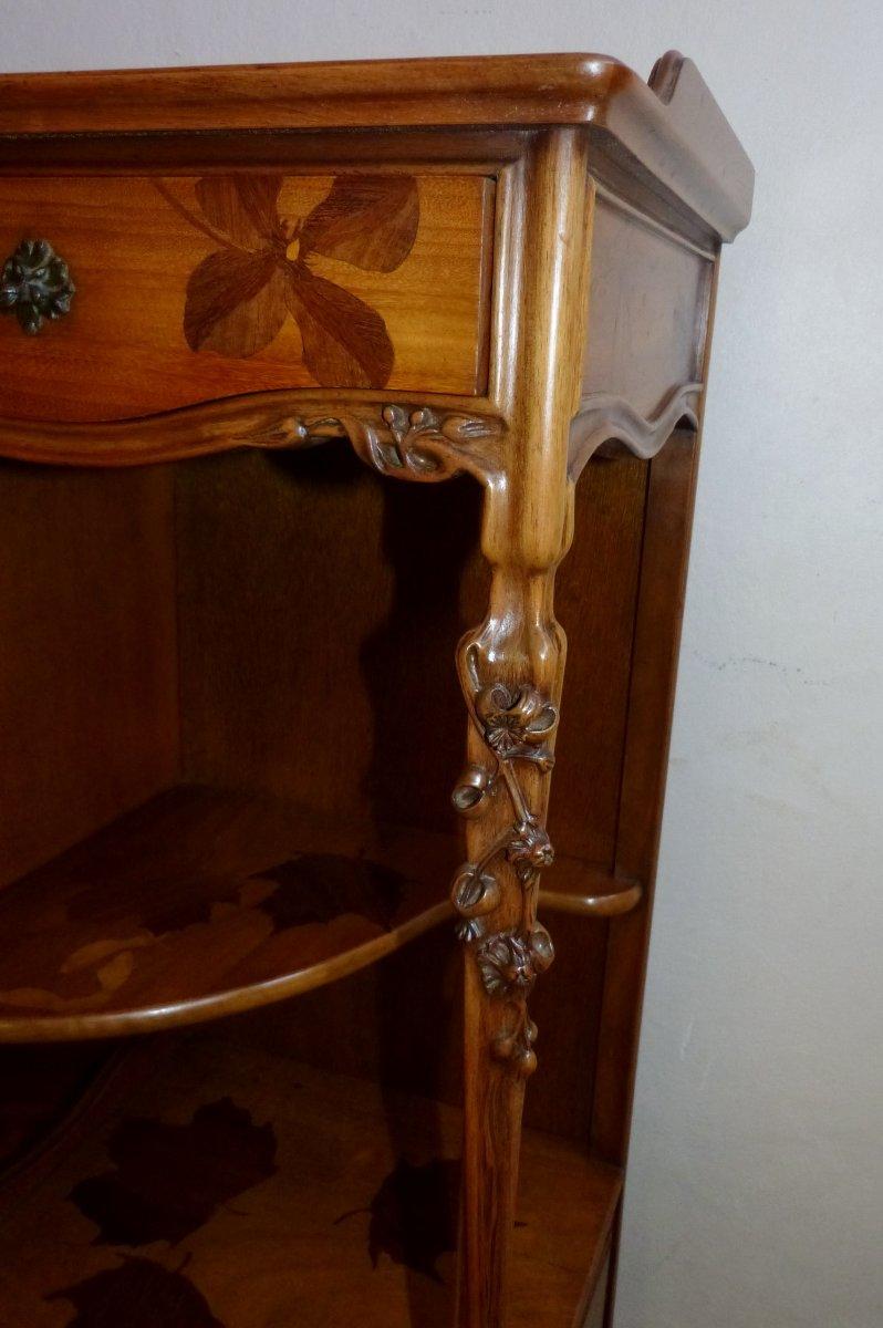 louis majorelle meuble tag re art nouveau cole de nancy xxe si cle. Black Bedroom Furniture Sets. Home Design Ideas