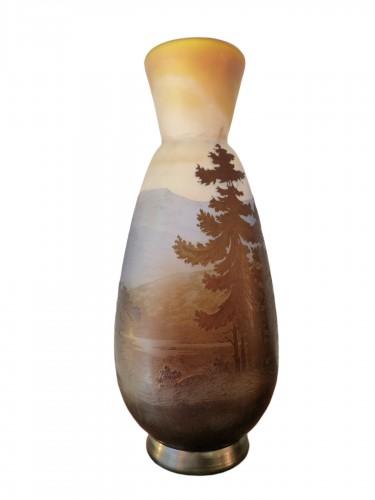 Emile Gallé - Vosges Landscape Vase