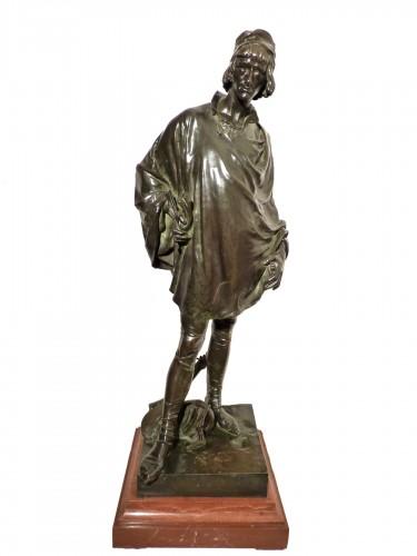 Jean François Marie ETCHETO (1853-1889) - Le Menestrel