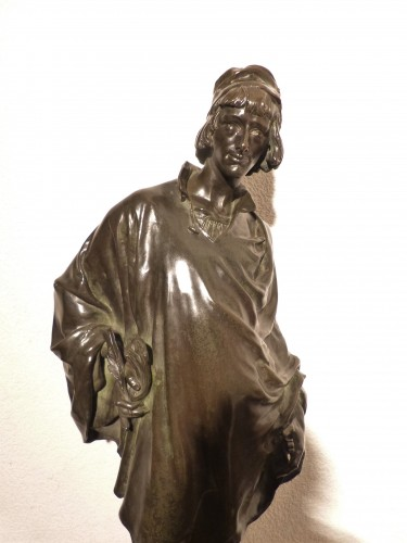 Jean François Marie ETCHETO (1853-1889) - Le Menestrel -
