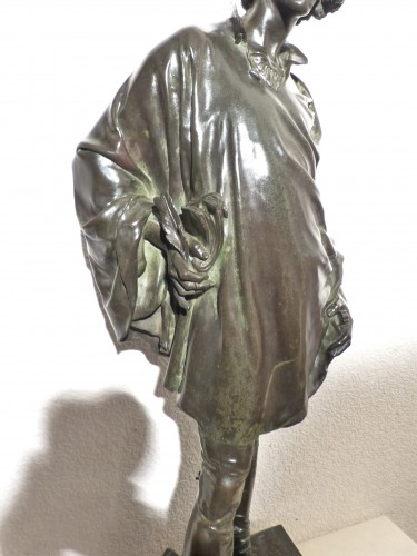Jean François Marie ETCHETO (1853-1889) - Le Menestrel - Napoléon III
