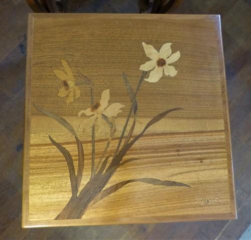 Emile Gallé - Series of Art Nouveau nesting tables - Furniture Style Art nouveau