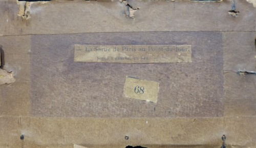 20th century - Luigi Loir (1845 - 1916) - The exit from Paris at the Point-du-jour