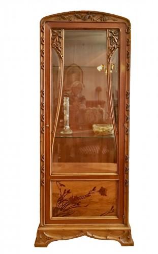 Louis Majorelle, Art Nouveau pine apple display cabinet