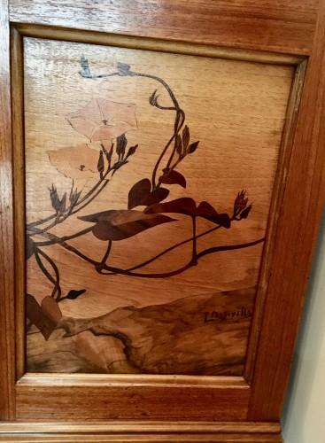 Louis Majorelle, Art Nouveau pine apple display cabinet -