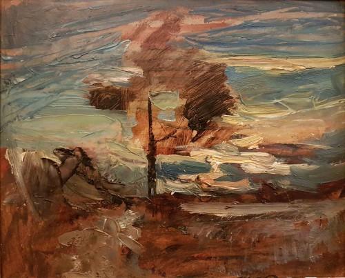 François Auguste RAVIER (1814 - 1895) - Wind of the Midi