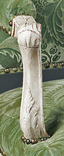 An elegant laquered Regence armchair -