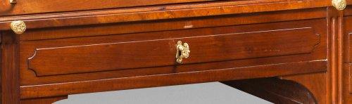Furniture  - A louis XVI ormolu-mounted bureau à cylindre by J. Stöckel