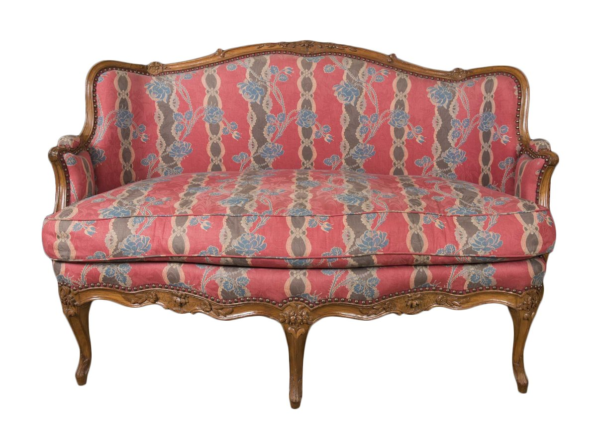 Canap louis xv estampill reuze xviiie si cle for Canape louis 15
