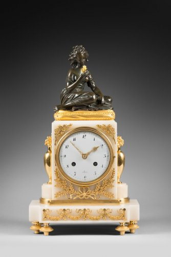 An early 19th Century striking mantel clock - Empire