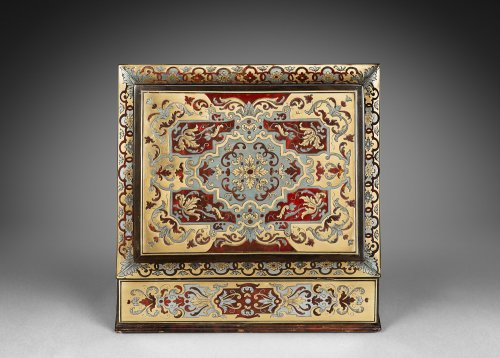 A Boulle marquetry casket - Decorative Objects Style Louis XIV