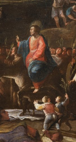 Campagno Scipione (Naples circa 1624-1685) - The Entry of Christ into Jerusalem -