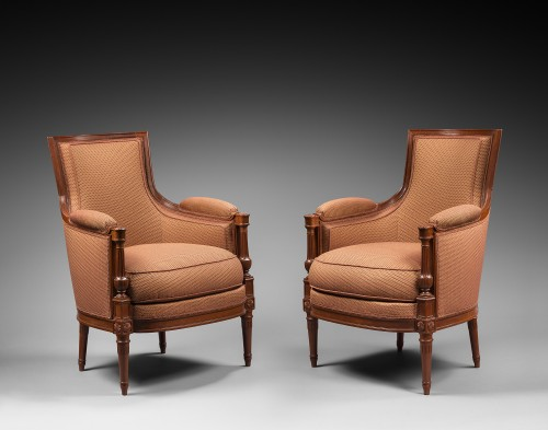 A mahogany Directoire salon suite - Seating Style Directoire
