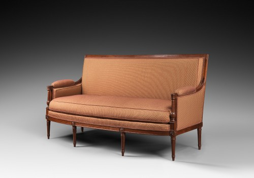 Seating  - A mahogany Directoire salon suite