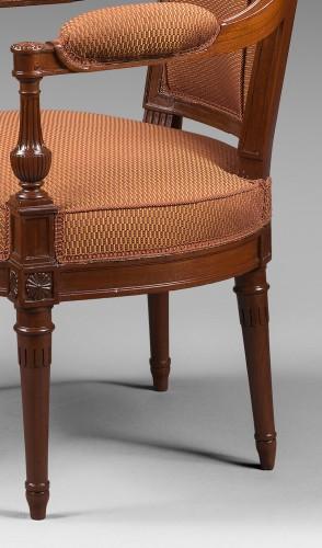 A mahogany Directoire salon suite - Directoire