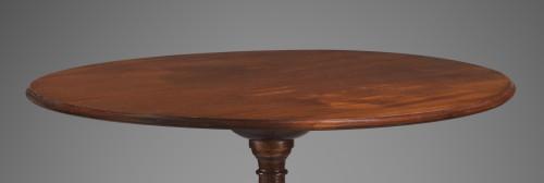 18th century - A Louis XVI  mahogany tilt-top guéridon