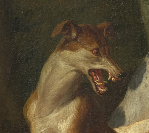 Paintings & Drawings  - Alexandre-François Desportes (1661 –1743() - Hallali of wild boar