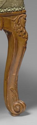 18th century - A Regence beechwood fauteuil