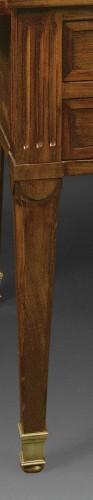 A Louis XVI Mahogany bureau plat and cartonnier - Furniture Style Louis XVI