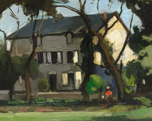 Paintings & Drawings  -  Marcel Parturier (1901 – 1976) - House in Carolles (Normandy)