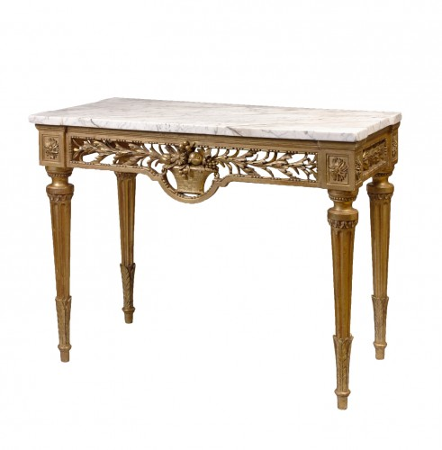 A Louis XVI provençale console