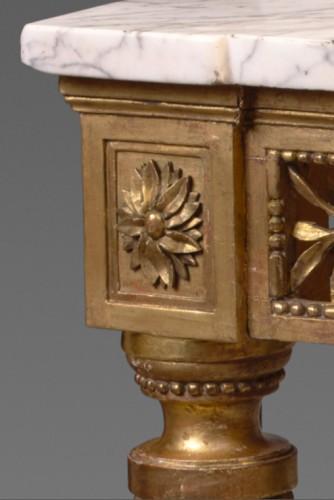 A Louis XVI provençale console -