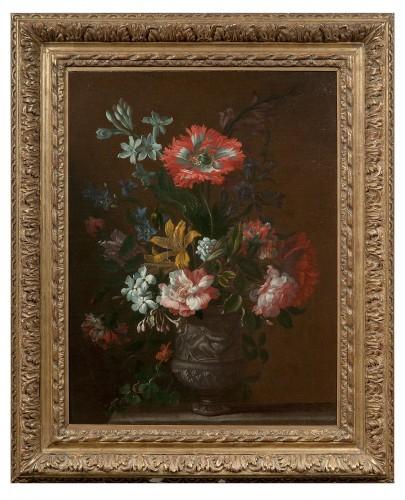 Jean-Baptiste Monnoyer- Still life : Flowers17th Century