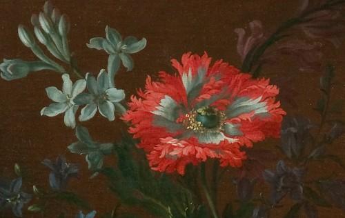 Paintings & Drawings  - Jean-Baptiste Monnoyer- Still life : Flowers17th Century