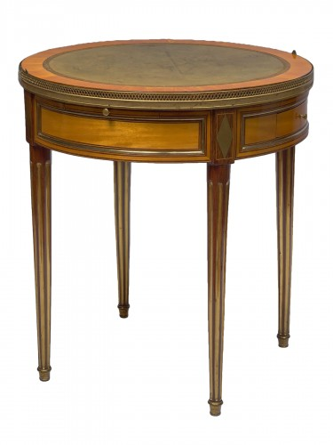 A Louis XVI bouillotte table stamped Pafrat
