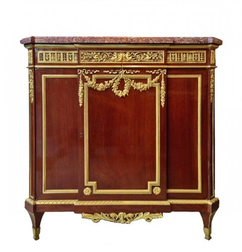 Side cabinet by Henry Dasson 1879