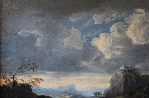 Paintings & Drawings  - Jan frans van Bloemen (Anvers 1662- Rome 1749) attributed to