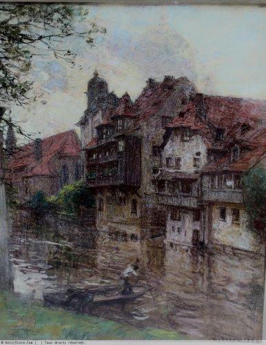 Léon Augustin Lhermitte (1844-1925)  - Nuremberg - Paintings & Drawings Style