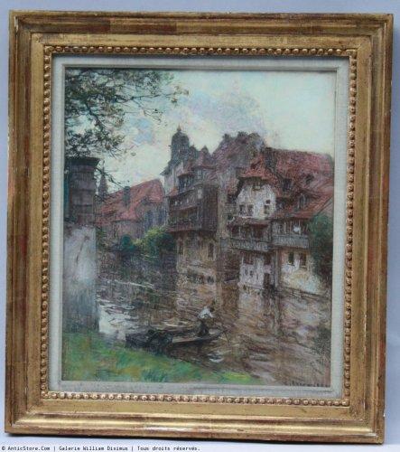 Paintings & Drawings  - Léon Augustin Lhermitte (1844-1925)  - Nuremberg