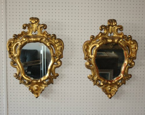 Pair of Italian mirrors