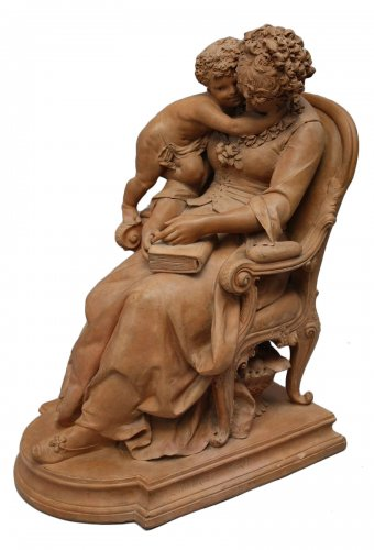 Terracotta sculpture by Lucas Madrassi