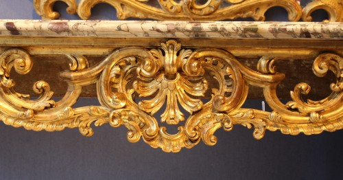 Louis XV Period  - Console - Furniture Style Louis XV
