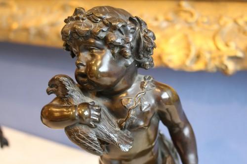 Sculpture  - Pair of Faunes After Clodion