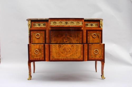 Antiquités - Commode d'époque Transition estampillé par Jean Baptiste Vassou