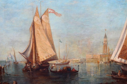 Attributed to Ludwig Theodor Choulant (1827-1900) -  Venise View -