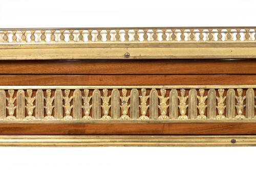 Louis XVI -  Serving console Louis XVI period stamped by Adam Weisweiler