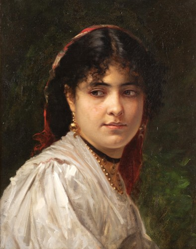Woman's portrait -  Léon Bonnat