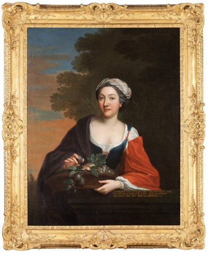 Portrait Of Henriette Julie de Dufort of Duras