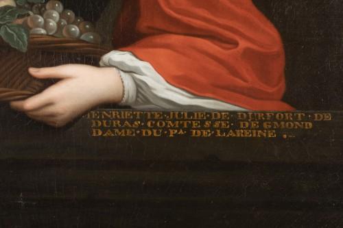 Paintings & Drawings  - Portrait Of Henriette Julie de Dufort of Duras
