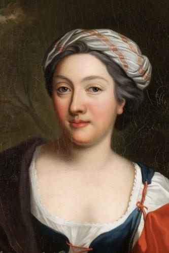 Portrait Of Henriette Julie de Dufort of Duras -