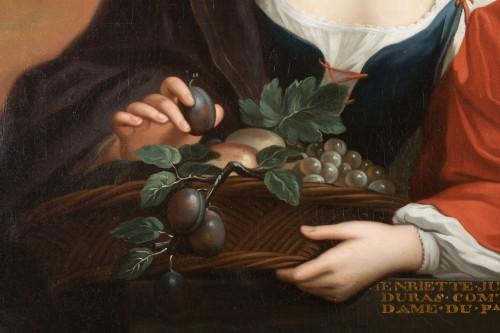 18th century - Portrait Of Henriette Julie de Dufort of Duras